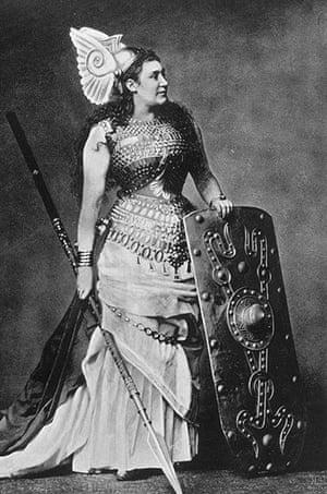 Amalia Friedrich Materna as Brunnhilde
