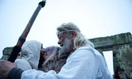 Chief druid Arthur Pendragon