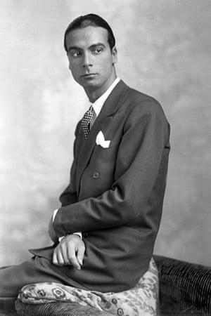 Top 10: fashionable males: Cristobal Balenciaga (1895-1972), Spanish couturie