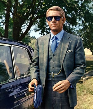 Top 10: fashionable males: Steve McQueen