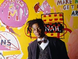 Top 10: fashionable males: American Painter Jean-Michel Basquiat