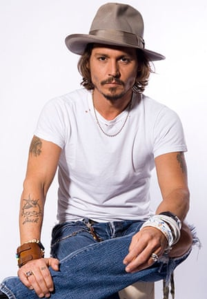 Top 10: fashionable males: Johnny Depp