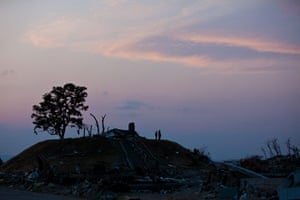 24 hours: the devastated Yuriage district in  Miyagi prefecture, Japan
