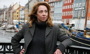Sofie Gråbøl, who plays Sarah Lund in The Killing