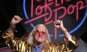 Now, then, now then: Jimmy Savile returns to our screens.