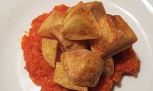 Jose Pizzaro's patatas bravas