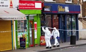 London gang shooting