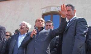 Berlusconi claims he will empty Italian island of Lampedusa of migrants