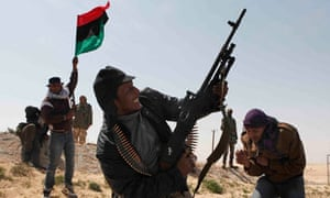 Libya conflict leaves both sides running short of ammunition