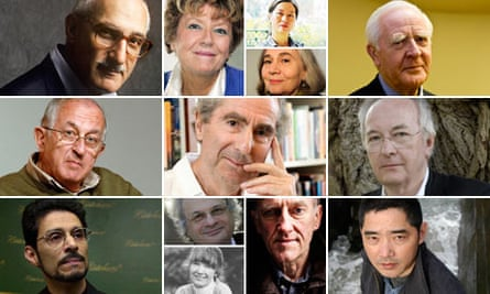 Booker Prize Authors Composite