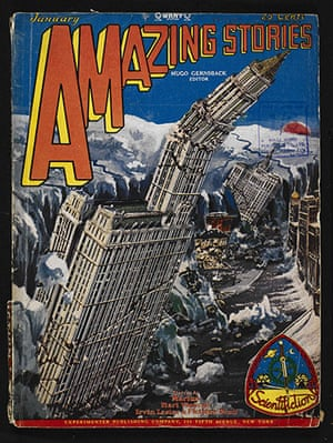 Out of this world: Amazing Stories, January 1929, front cover