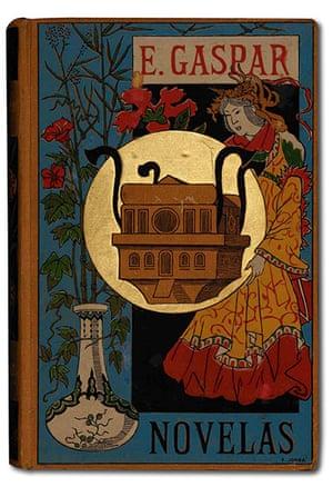 Out of this world: Cover of Enrique Gaspar's Novelas, 1887