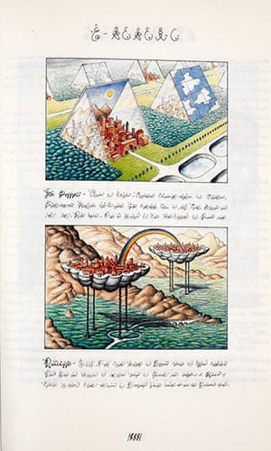 Out of this world: A page from Luigi Serafini's Codex Seraphinianus, 1976-1978