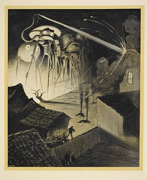 Out of this world: The Martians from H G Wells's The War of the Worlds