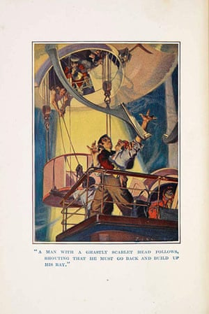 Out of this world: A page from Rudyard Kipling's With the Night Mail, 1909