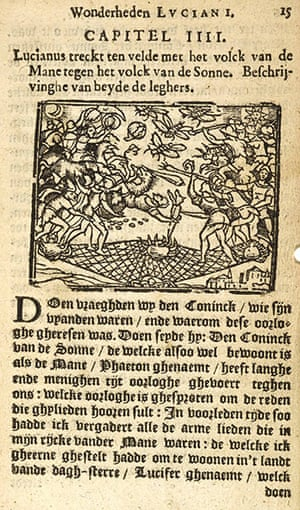 Out of this world: Lucian of Samosata, True History, Dutch edition, 1647