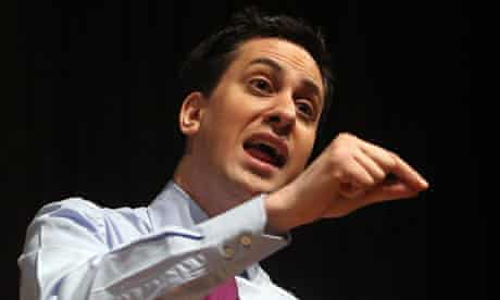 Ed Miliband rhetoric