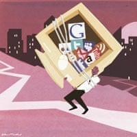 Oliver Burkeman illustration: spam