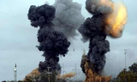 Air strikes on Tajoura district