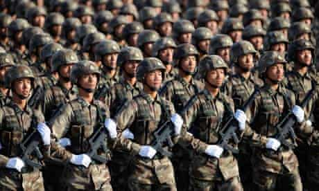 China's defence budget will be used in part to fund wage rises for the People's Liberation Army