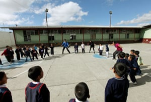 Guatemala Toybox Charity: A primary school in the north of Guatemala City