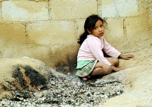 Guatemala Toybox Charity: A child plays in the street