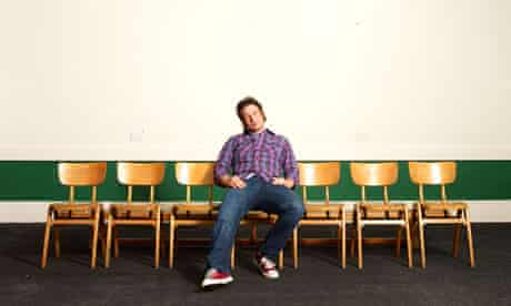 Jamie Oliver takes a break from his Dream School.