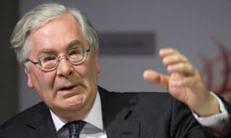 Mervyn King has accused the banks of taking advantage of unsuspecting customers to produce profit