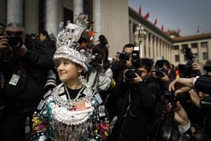 NPC in Beijing: ethnic minority delegate