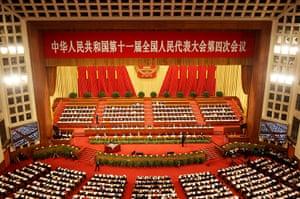 NPC in Beijing: Opening Session