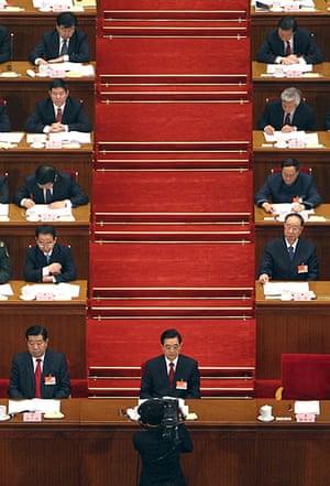 NPC in Beijing: President Hu Jintao