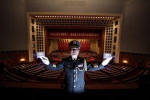 NPC in Beijing: Conductor