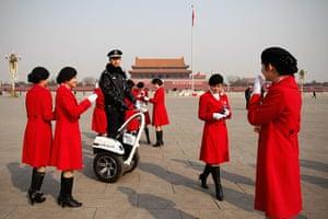 NPC in Beijing: Segway