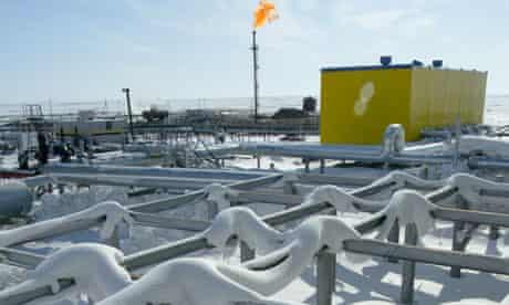 Pipeline in Russia's Arctic region