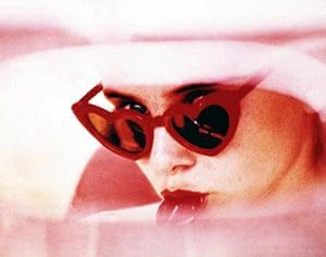 sunglasses: lolita heart-shaped sunglasses