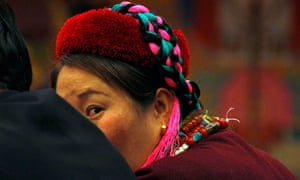 A Tibetan provincial delegate at the National People's Congress in Beijing