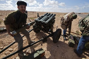 Sean Smith: 6 March: Rebels fire multiple launcher rockets during a fight