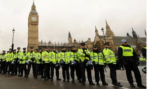 police consider protest march