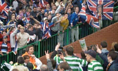 SOCCER Celtic v Rangers 11