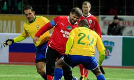 Brazil-Chechnya football match