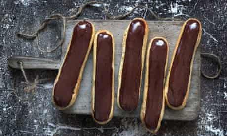 Raymond Blanc's chocolate éclairs