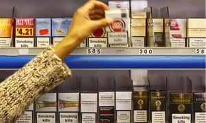 Ban on displaying tobacco in shops
