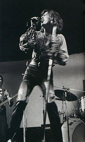 David Bowie: Hype performance at the Roundhouse, 1970