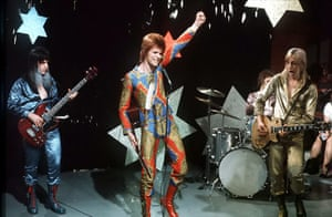 David Bowie: David and The Spiders performing on Lift Off With Ayshea