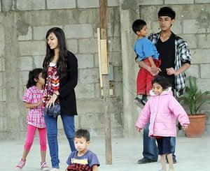 Guatemala city: Street children