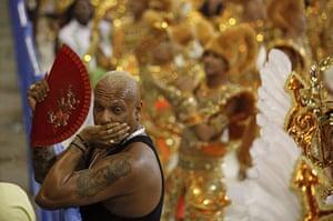 from the agencies : Imperatriz Leopoldinense samba school