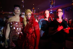 from the agencies : Gay Carnival celebration