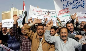 Iraqi protesters