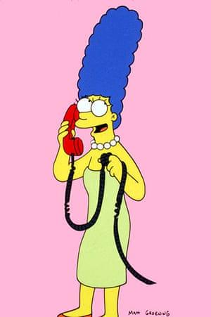10 best: fictional mums: Marge Simpson