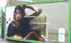 advertising poster in street